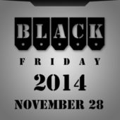 Black Friday — Stock Photo