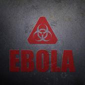 Ebola sign — Stock Photo