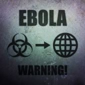 Ebola - global threat — Stock Photo