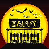 Happy halloween! — Stock Photo