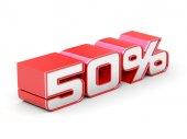 50 Percent off — Stock Photo