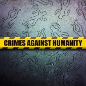 Crime against humanity — Stock Photo