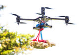 Easter drone — Stock Photo