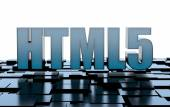 HTML 5 internet technology — Stock Photo