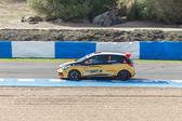 Eurocup Clio 2014 - Fabio Mota - Lema Racing Team — Stock Photo