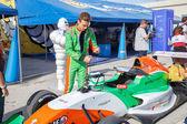 Eurocup Formula Renault 2.0 2014 - Andrea Pizzitola - Manor MP M — Stock Photo