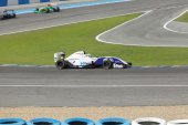 Eurocup Formula Renault 2.0 2014 - Thiago Vivacqua - J.D. Motors — Stock Photo