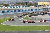 Eurocup Fórmula Renault 2.0 2014 - corrida sobre — Fotografia Stock