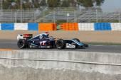 Formula Renault 3.5 Series 2014 - Oscar Tunjo - Pons Racing — Stock Photo