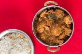 Chicken Malabar curry  high angle — Stock Photo