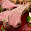 Roast lamb chops — Stock Photo #57110987
