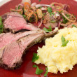 Roast lamb chops — Stock Photo #57111065