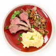 Roast lamb chops — Stock Photo #57111077
