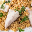 Lebanese fish rice and nuts — Stock Photo #57220321