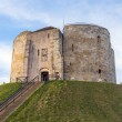 Cliffords Tower in York — Stock Photo #65474913