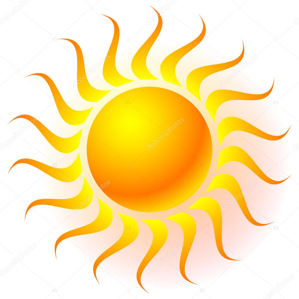 sonne clipart mit transparenten leuchteffekt stockvektor clip art of the sun and moon clip art of the sunbathers