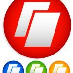 Prepress, contract, printing icons — Stock Vector #67112113