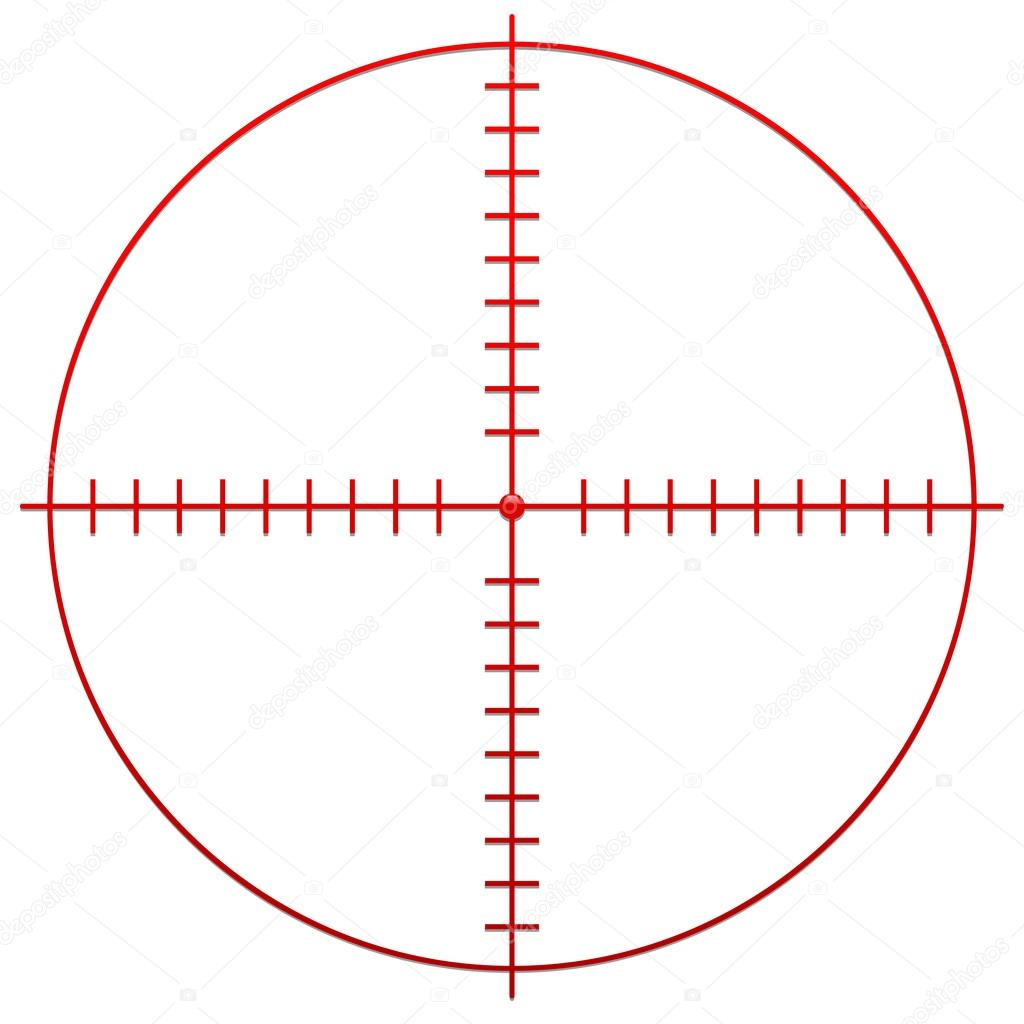 Leupold 1x14 Tactical Prismatic Rifle Scope w/ Illuminated Red ...