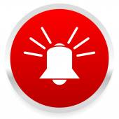 Ringing bell. alarm icon — Stock Vector