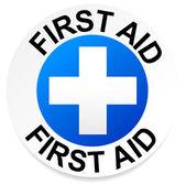 First Aid badge — ストックベクタ