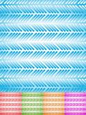 Colorful rectangular background set — Stock Vector