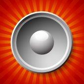 Speaker or loudpseaker background — Stock Vector