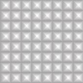 Pointed, pyramidal shapes pattern — Stock Vector