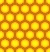 Honeycomb repeatable pattern — Stock Vector
