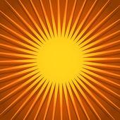 3d spiraling Sun — Stock Vector