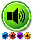 Speaker, notification icon — Stock Vector