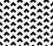 Seamless Pattern of Triangular Shapes - Squares Overlapping — Stock Vector