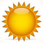 Sun Clip-art sign — Stock Vector