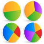 Pie Chart Graphics. — Stock Vector #69820943