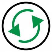 Spinning, rotating arrows — Stock Vector