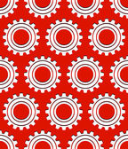 Various gear wheels pattern — Stockvektor
