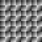 Overlapping triangles seamless patterns. — Stok Vektör