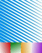 Parallel stripes background set — Stock Vector