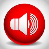 Speaker icon for volume — Stock Vector