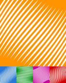 Reihe von bunten Hintergrund — Stockvektor