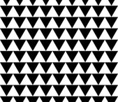 Seamless pattern made of triangles. — Stock Vector