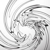 Swirling abstract background — Stock Vector