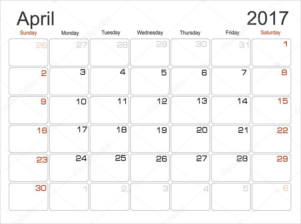 календар клева апрель 2017