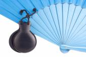 Flamenco castanets and fan — Stock Photo