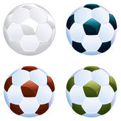 Soccer Ball Icon — Stock Vector
