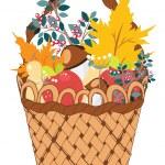 Basket of Vegetables — Stock Vector #55024795