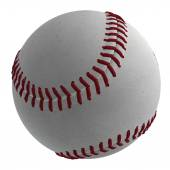 3D Baseball Ball — Stock Photo