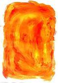 Orange Paint Background — Stock Photo