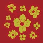 Doodle Flowers — Stock Vector #58965031