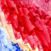 Blue and Red Painted Texture — Stock Photo