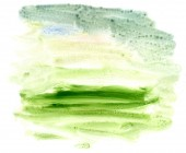 Green Acrylics Texture — Stock Photo